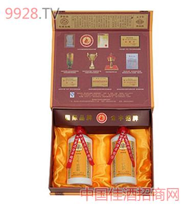 黔臺酒廠五十年珍品酒