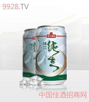 珠江纯生(罐装)啤酒