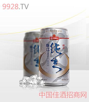 珠江精品纯生(罐装)啤酒
