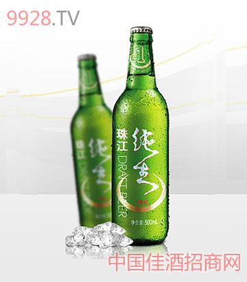 珠江特制纯生啤酒