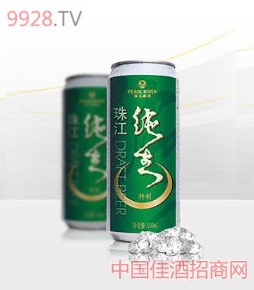 珠江特制纯生(500ml罐装)啤酒