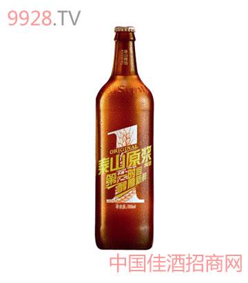 泰山原浆啤酒全国招商中