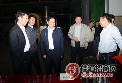 省审计厅副厅长胡海波到口子公司调研